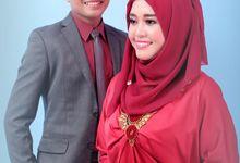 prewedding risa & nanang by calista photography