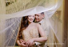 Chesca and Joseph Bitangcol by Lovely Terrado Makeup Artist