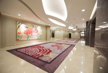 Foyer Area of Skenoo Hall Emporium Pluit by Skenoo Hall Emporium Pluit by IKK Wedding