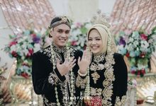 Akad and Reception Tomy and Zahra by  Menara Mandiri by IKK Wedding (ex. Plaza Bapindo)