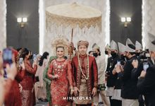 Minang New Normal Wedding of Putri & Augie by Menara Mandiri by IKK Wedding (ex. Plaza Bapindo)