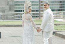 Outdoor After Akad Beauty Shoot by Financial Hall by IKK Wedding