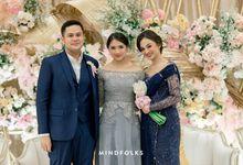 Beautiful Wedding Moment Olga & Dito at Financial Hall by Financial Hall by IKK Wedding