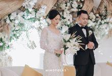 New Normal Hampers Wedding of David & Gloria by  Menara Mandiri by IKK Wedding (ex. Plaza Bapindo)