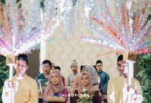 AKAD & RECEPTION OF RAJA & RATU by  Menara Mandiri by IKK Wedding (ex. Plaza Bapindo)