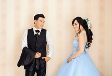 INDOOR prewedding by JCL FOTO BRIDAL SALON