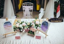 Wedding of Weishoon  & Jiawen by Jcraftyourevents