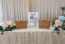 Reception Table Styling by Jcraftyourevents by Jcraftyourevents