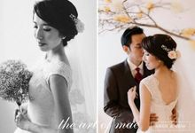 Wedding Hair And Makeup by The art of Mae atelier workshop