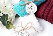 Rolled Face Towels by Whipped Love