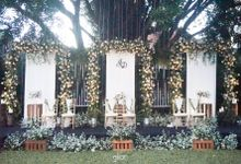 The Wedding of Jasmine and Dimas by Elior Design