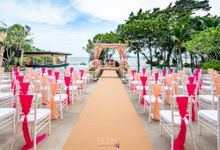 Aayush and Navreet indian wedding at westin siray bay Phuket Thailand by BLISS Events & Weddings Thailand