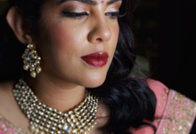 Indian Bride, Trisha  by Jeanette Anandajoo