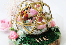 Mickey Minnie Ring Bearer for Mr. Taki & Ms. Erica by Jeestudio Id