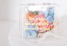 Acrylic Ring Bearer for Angelina & Partner by Jeestudio Id