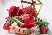 Petite Pentagon Ring Bearer for Joe & Wendy  by Jeestudio Id