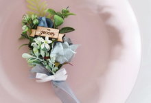 Boutonnière for Desy's Groom by Jeestudio Id