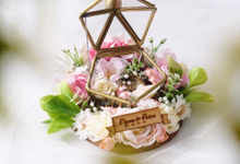 Petite Pentagon Ring Bearer for Dyana & Pasca by Jeestudio Id
