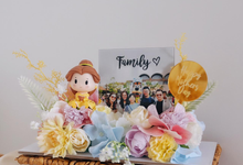 Fleur Cake for Angeline's Mom (Mother's Day) by Jeestudio Id