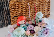 """Fleur Cake """"Ariel"""" for Ms. J by Jeestudio Id"""