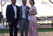 Bali Wedding MC Christian & Vanie by Jenita Darmento (MC)