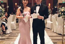 Singapore weddings 2018 by Jenita Darmento (MC)