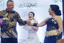 English International MC at Hotel Borobudur  by Jenita Darmento (MC)