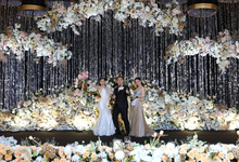 Elegant and Fun Wedding MC of Harris & Ariana by Jenita Darmento (MC)