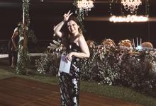 Bali Wedding MC for Mardian & Christine by Jenita Darmento (MC)