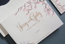 Jerry & Gaby by Meltiq Invitation