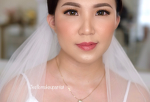 Wedding makeup  by Jesflomakeupartist