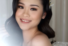 Wedding makeup for ms evelyn  by Jesflomakeupartist