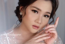 Wedding makeup for ms bella  by Jesflomakeupartist