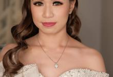 Wedding makeup for mrs jovita by Jesflomakeupartist