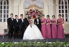 MICHAEL JESSICA WEDDING by bridestore indonesia