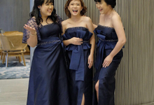 Bridesmaids Dresses by Jessica Huang