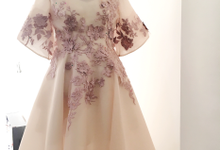 Cousins/ family of the Bride/ Groom Gowns by Jessica Huang