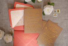 Bespoke Letterpress - Jessica & John by Bespoke Letterpress
