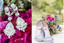 Vintage Glam Wedding by Amber Elaine Photography