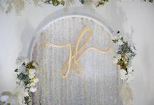 Joseph & Fitri Wedding Decoration by Valentine Wedding Decoration