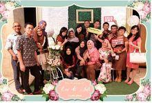 The Wedding Of Evi & Adi by Indigo Photobooth