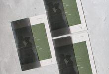 Joshua & Gabriele Invitation Suite by Sho Paper