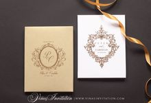 PETER AND CORDELIA by Vinas Invitation