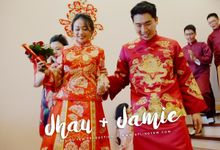 Jhau & Jamie - Wedding Actual Day Cinematic Video by Aplind Yew Production - Wedding Cinematography & Photography