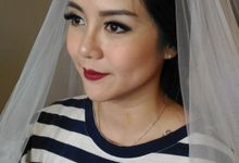 BRIDE MAKEUP - DELICE by Priska Patricia Makeup