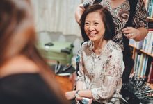 Jian Qun and Esther Wedding Day Behind the Scence by Susan Beauty Artistry