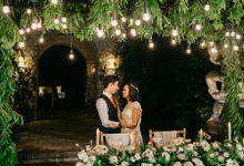 Beach Blessing Ceremony and Garden Reception  by jicoo bali