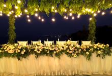 Romantic Blessing & Dinner  by jicoo bali