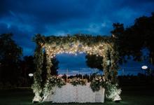 Garden Party Wedding by jicoo bali