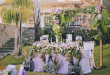 Romantic Purple Styling by jicoo bali